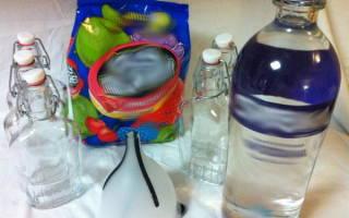 Как делать в домашних условиях водку из спирта