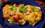 Запеканка овощная с мясом в духовке рецепт