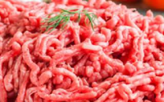 Как приготовить фарш мясной