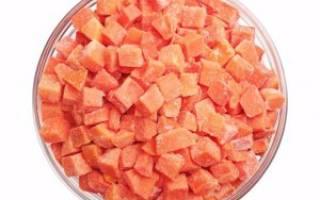 Как заморозить морковь на зиму в холодильнике в пакетах