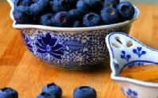 Варенье из черники с целыми ягодами на зиму