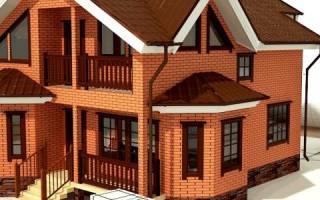 Дом из керамического кирпича плюсы и минусы