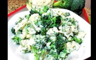 Как вкусно приготовить брокколи и цветную капусту на сковороде