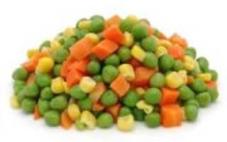 Заготовки на зиму в морозилке смесь овощей