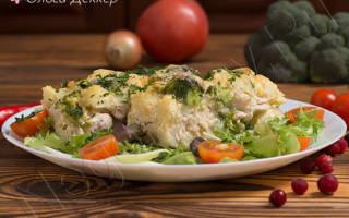 Запечь курицу с цветной капустой в духовке