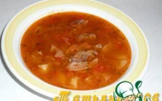 Как из говядины варить суп