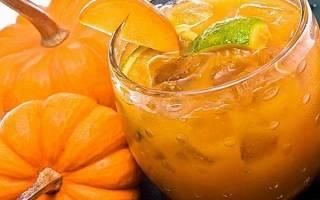 Как приготовить тыквенный сок на зиму с апельсином