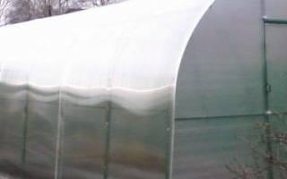 Как приготовить теплицу из поликарбоната к зиме