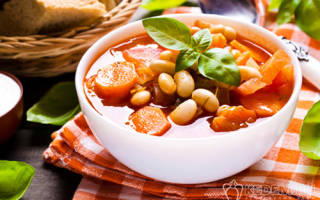 Как приготовить суп с фасолью из банки