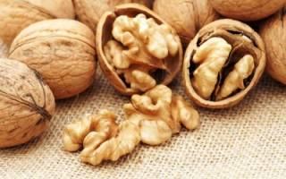 Грецкий орех при беременности польза и вред