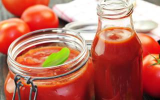 Как из томатной пасты приготовить кетчуп