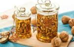 Как делать орехи в меду