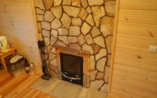 Защита стен от жара печи в деревянном доме