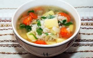 Как приготовить суп с мясом картошкой и