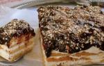 Как делать из печенья торт