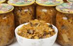 Как приготовить солянку с грибами на зиму с капустой