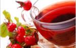 Как заварить чай из шиповника свежего