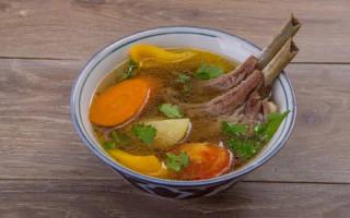 Как приготовить суп из баранины в домашних условиях