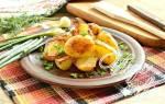 Как вкусно пожарить картошку вареную