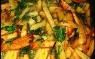 Как пожарить картошку рецепт