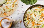 Как приготовить капусту вкусно на зиму