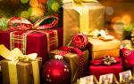 Варианты подарков на новый год для детей