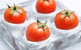 Как заморозить томаты на зиму в домашних условиях