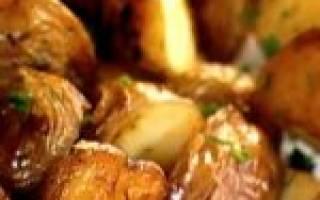 Как запечь картофель целиком в духовке