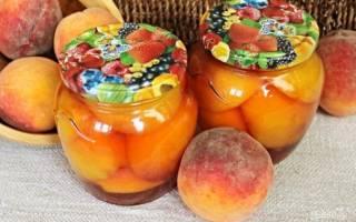 Как законсервировать персики на зиму рецепт