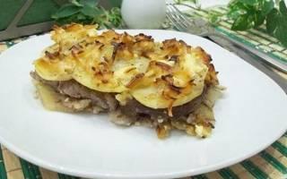 Как приготовить картофельную запеканку с мясом