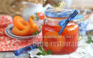 Как приготовить на зиму персики в сиропе