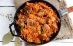 Как приготовить тушеную капусту с мясом на сковороде