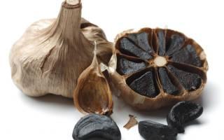 Как приготовить черный чеснок