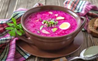Как приготовить свекольник суп