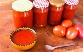 Как готовить домашний кетчуп